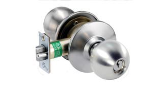 HK Cylindrical Knob Lockset