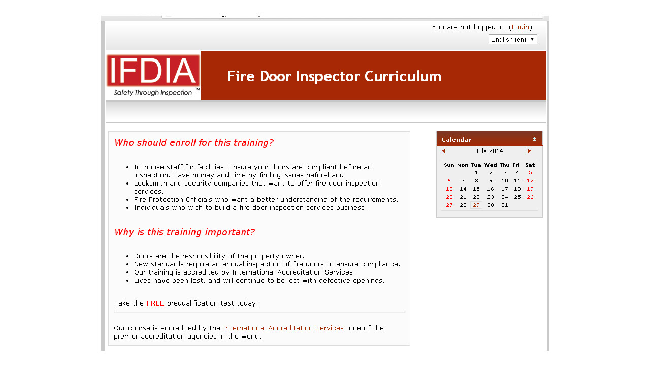Fdia Launches Swinging Fire Door Inspection Online Course