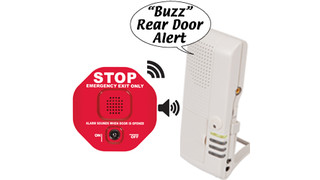 Wireless Exit Stopper® with Talking Receiver
